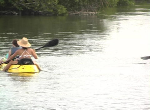 Kayak 4 Footage