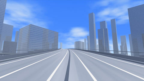 City Highway a Stock Video Footage
