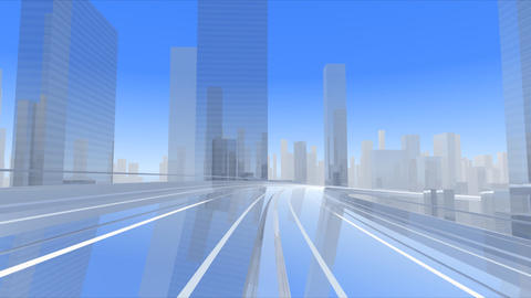 City Highway cc Stock Video Footage