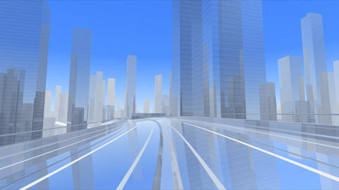 City Highway c Stock Video Footage