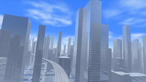 City Highway h Stock Video Footage