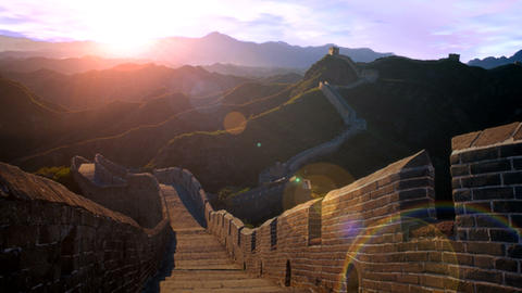 the Great Wall Stock Video Footage