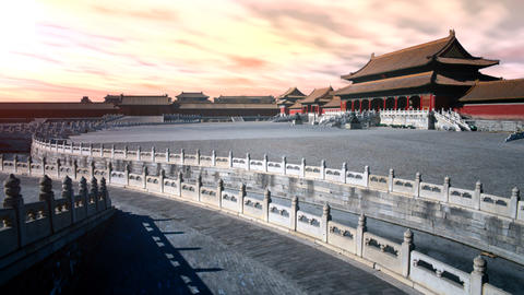 ancient building,China Animation