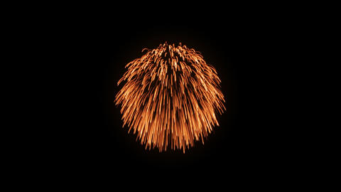 Fireworks Hanabi Ba HD Stock Video Footage