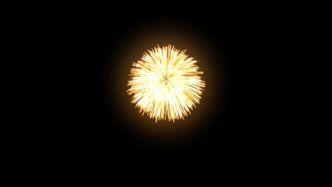Fireworks Hanabi Bc HD Stock Video Footage