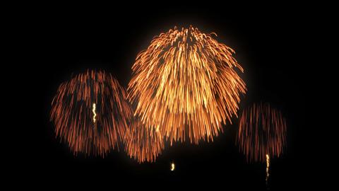 Fireworks HanabiTaikai B HD Animation