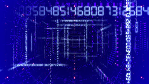 Digital Data ND2 Aa Stock Video Footage