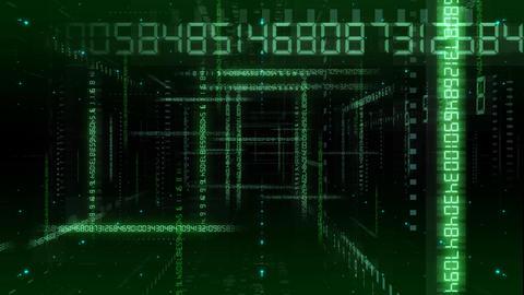 Digital Data ND2 Ae Stock Video Footage