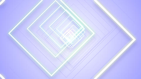 Rotated Squares effects Stock Video Footage