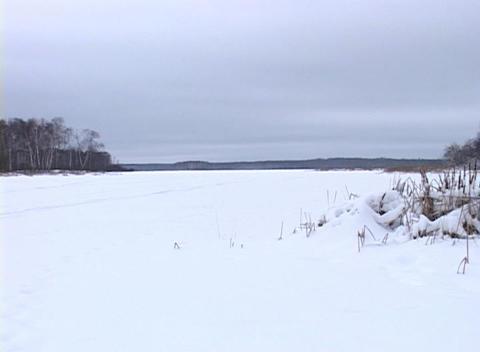 Snowy Landscape 2 Footage