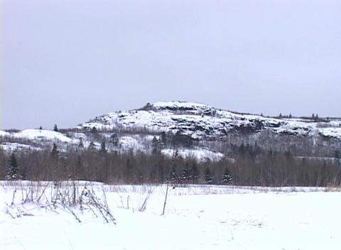 Snowy Landscape 3 Footage