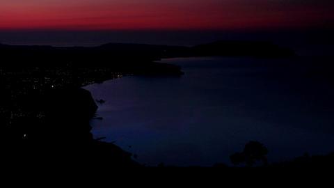 Timelapse sunrise in the mountains Sokol. Noviy Sv Stock Video Footage