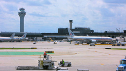 Chicago Airport 1 stock footage