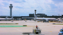 Chicago Airport 1 Stock Video Footage