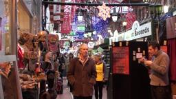 Street Arcade Stock Video Footage