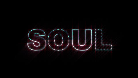 Soul LEDS 01 Stock Video Footage