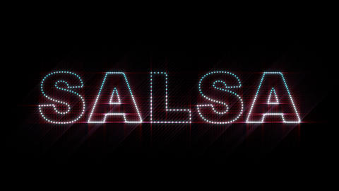 Salsa LEDS 01 Stock Video Footage
