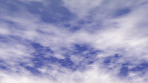 Fast Moving Clouds Animation