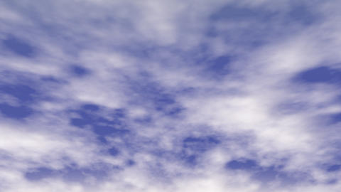 Fast Moving Clouds Stock Video Footage
