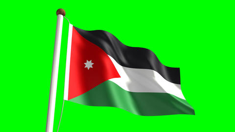 Jordan flag Animation