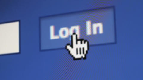 Facebook 4 SHOTS Stock Video Footage