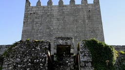 Entrance of Lindoso Castle Footage