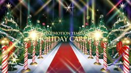 Holiday Carpet - Motion Apple Motion Template