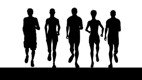 Five Runners Animation