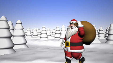 Greetings from Santa Claus Animation
