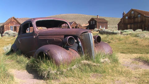 Antique Rusted Hot Rod Footage