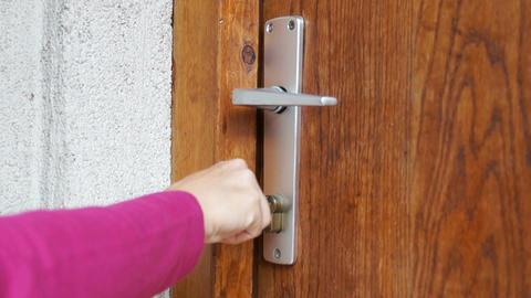 Door Stock Video Footage
