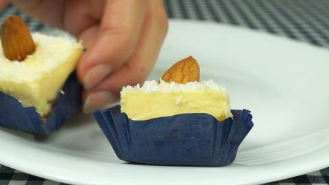 Vanilla sweets Stock Video Footage