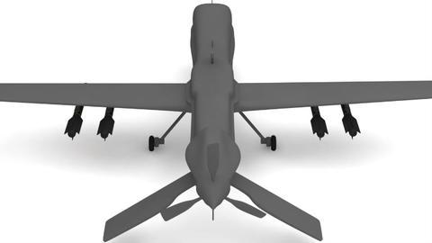 Predator Type Drones 3D Model