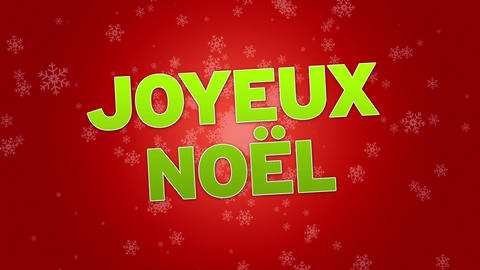 Merry Christmas (In French) Animation