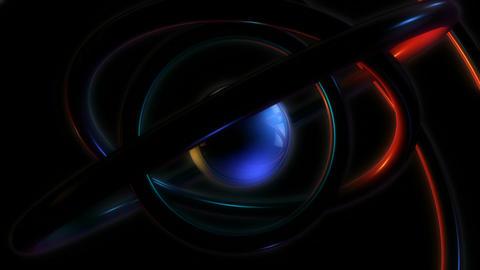 sphere orbit glowing Stock Video Footage