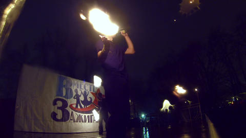 Fire show Footage