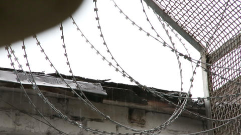 Barbed wire Footage
