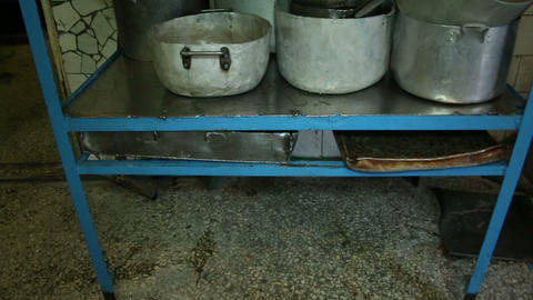Dish rack Stock Video Footage