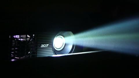 Beam projectors Footage