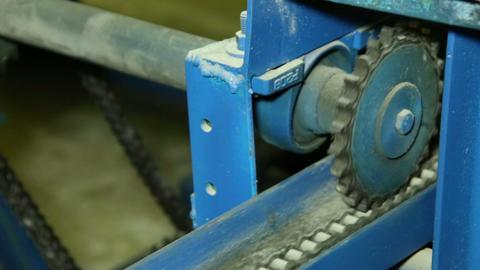 Lifting mechanism Stock Video Footage