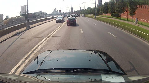 Leaving the car of the underground Parking Footage