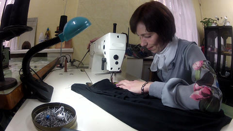 Sewing machine Stock Video Footage