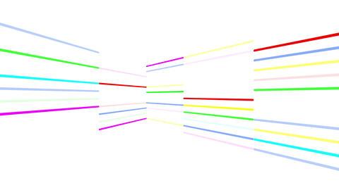 Neon tube R b B 3 HD Stock Video Footage