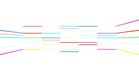 Neon tube R b D 3 HD Stock Video Footage