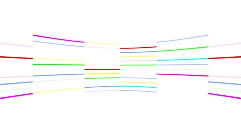 Neon tube R c B 3 HD Animation
