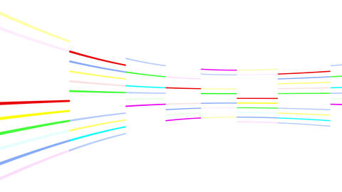 Neon tube R c C 3 HD Stock Video Footage