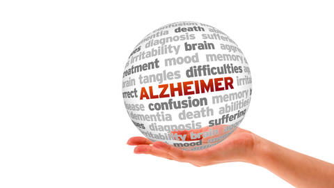 Alzheimer Word Shere stock footage