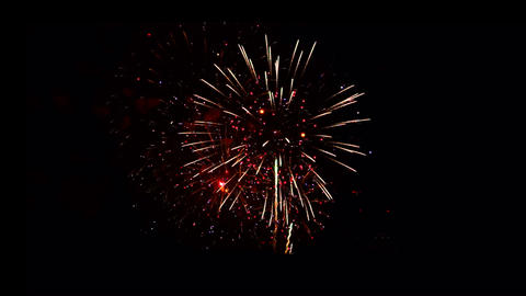 Fireworks Celebration stock footage