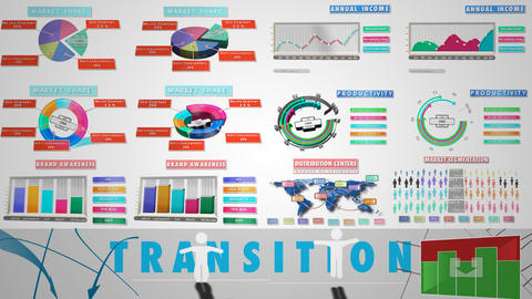 Corporate Infographic for Final Cut Pro X Apple Motion Template