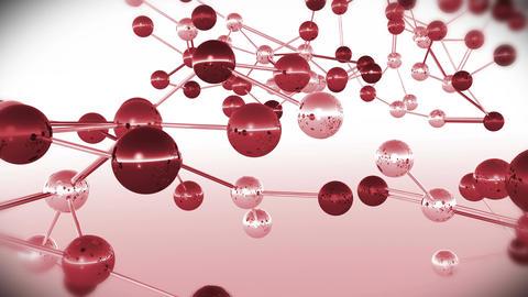 4 K Complex Molecule Structure 5 Stock Video Footage